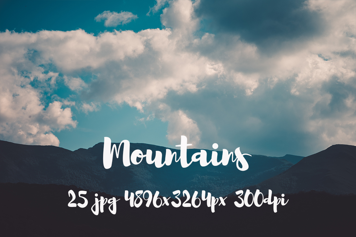 Mountains Pack example image 8