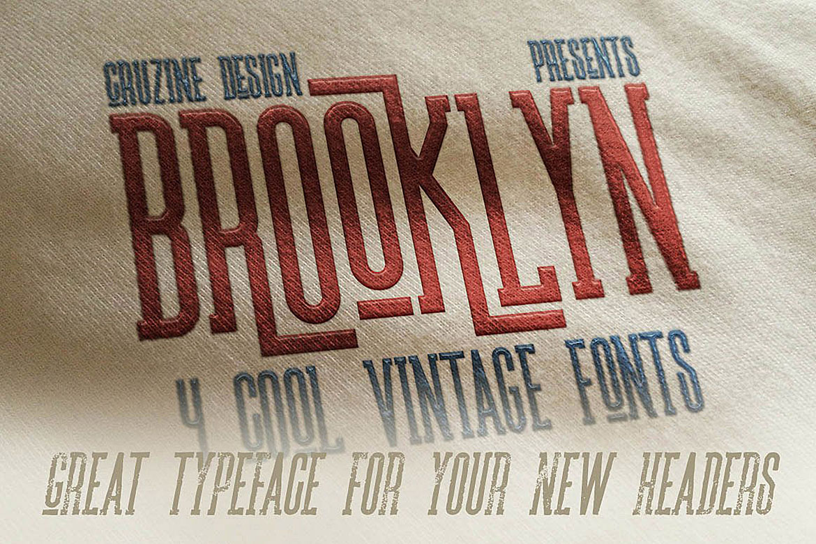 Brooklyn Typeface example image 5