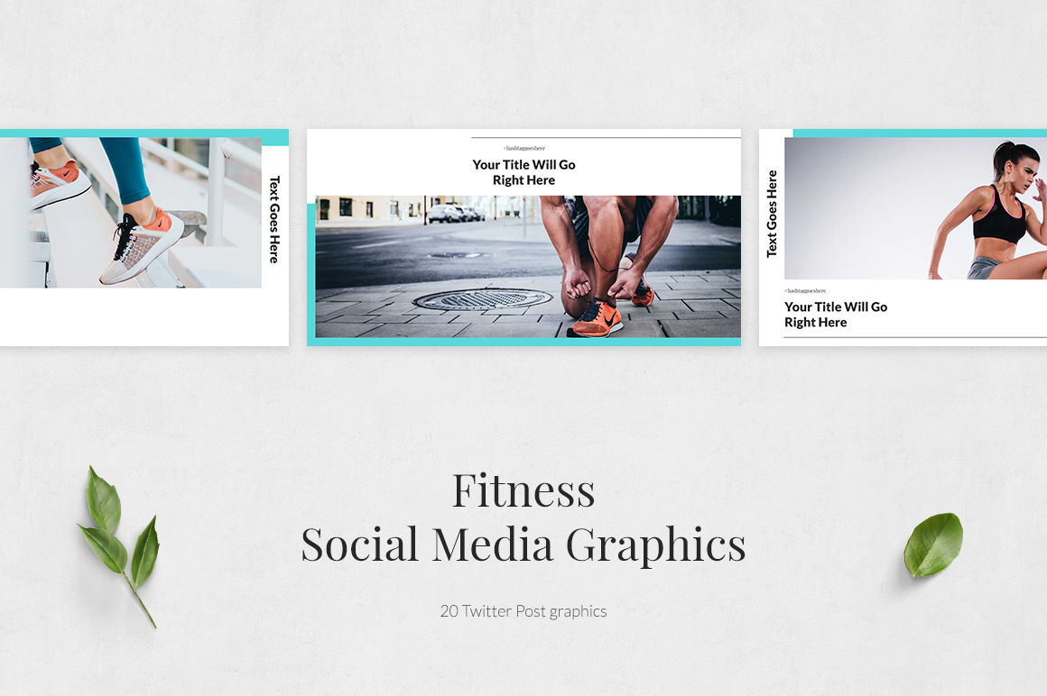 Fitness Twitter Posts example image 2