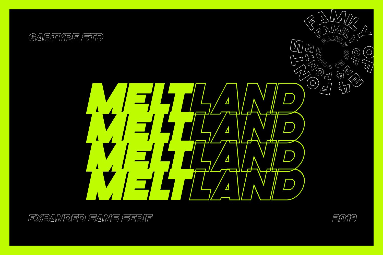 Meltland Font Family example image 2