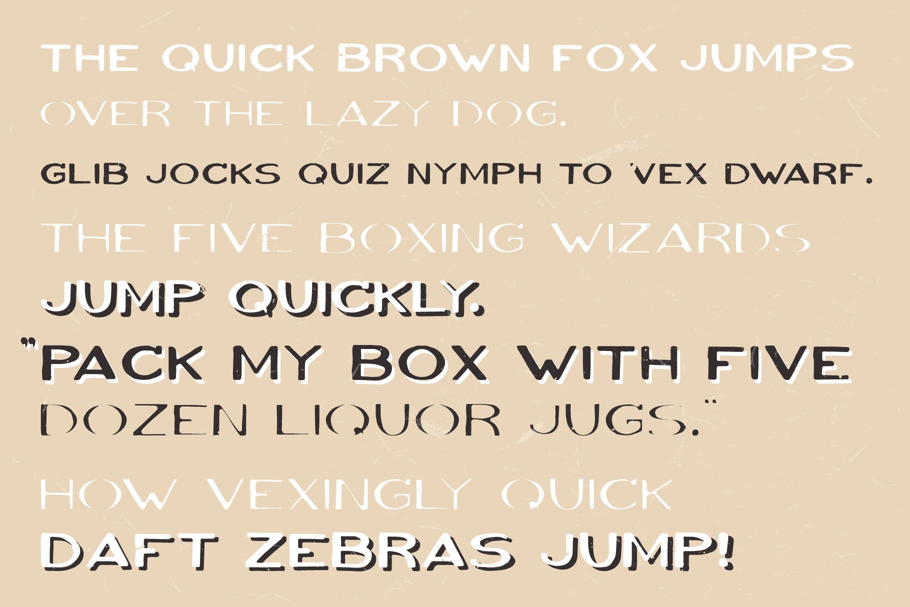VOLKI - Handwritten Vintage Typeface example image 4
