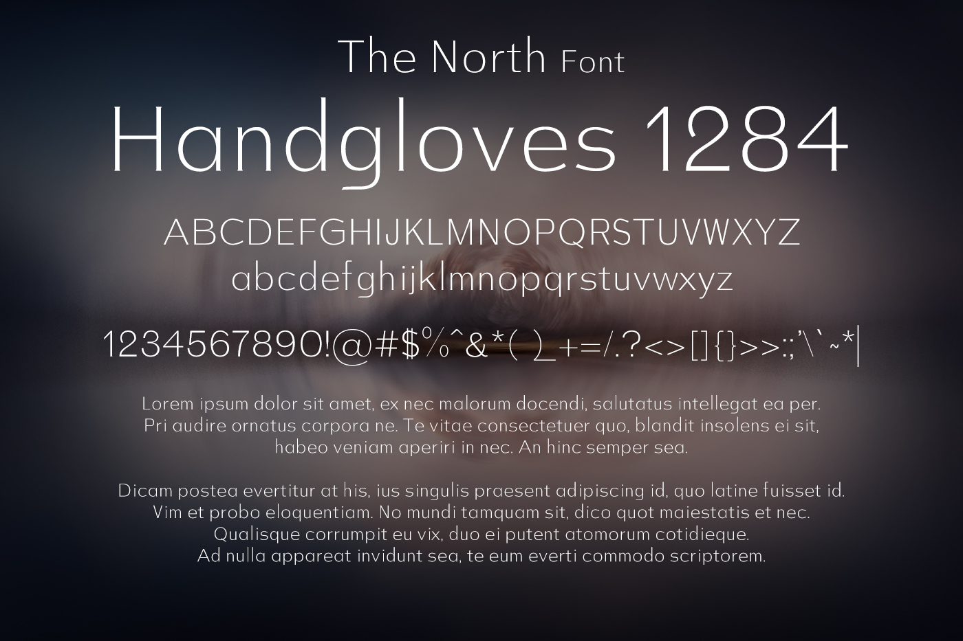 The North Font example image 2