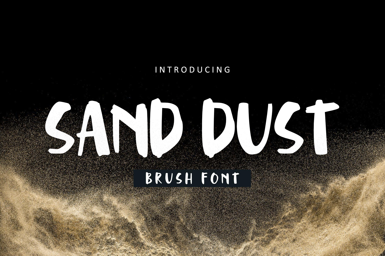 Brush Font Bundle example image 20