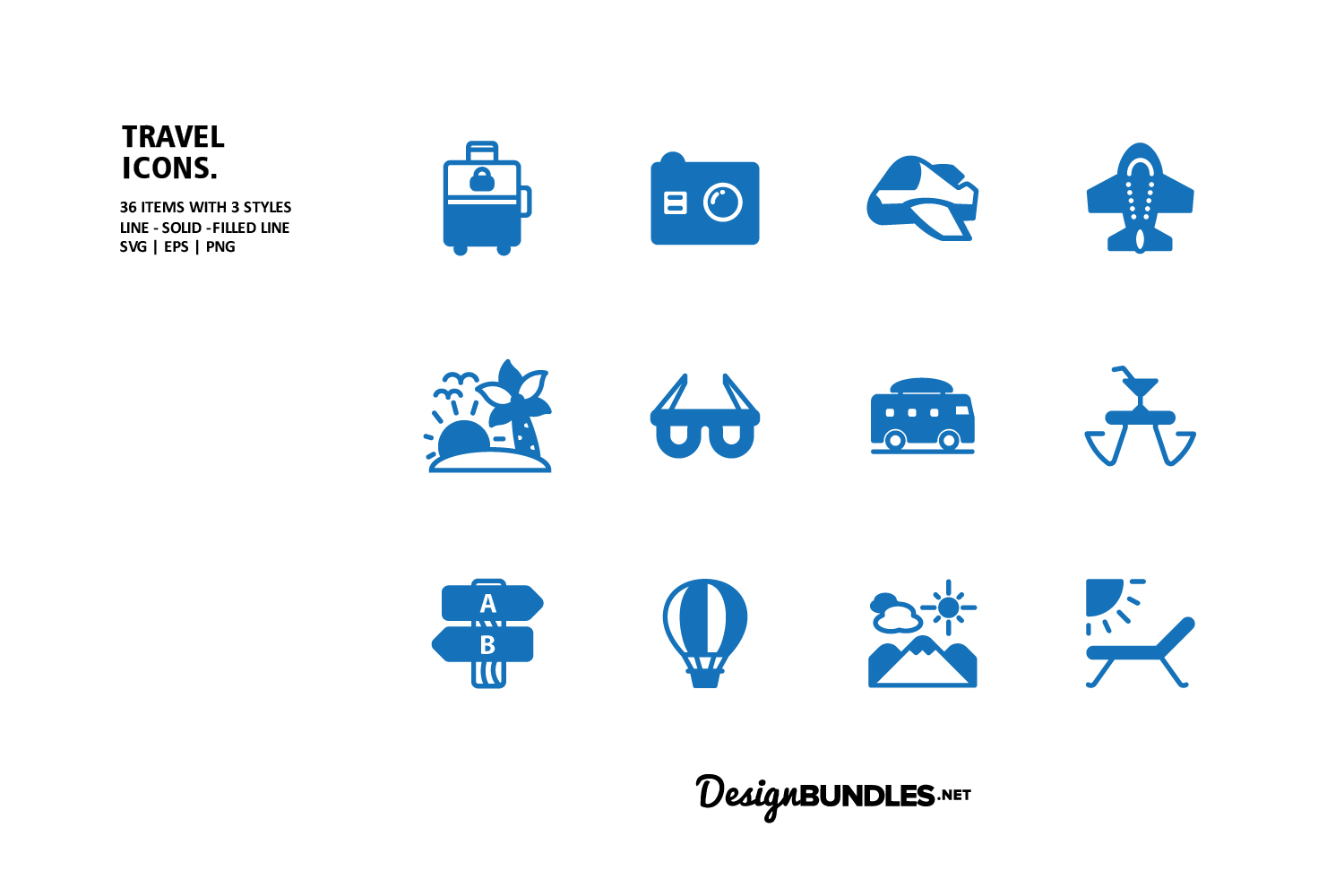 Travel Icons example image 2