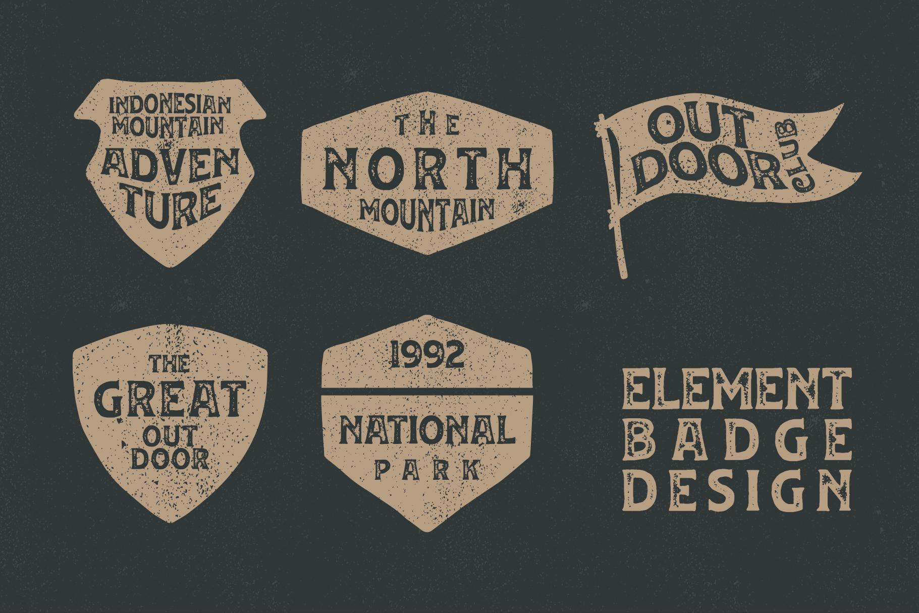 Huvet Typeface example image 3