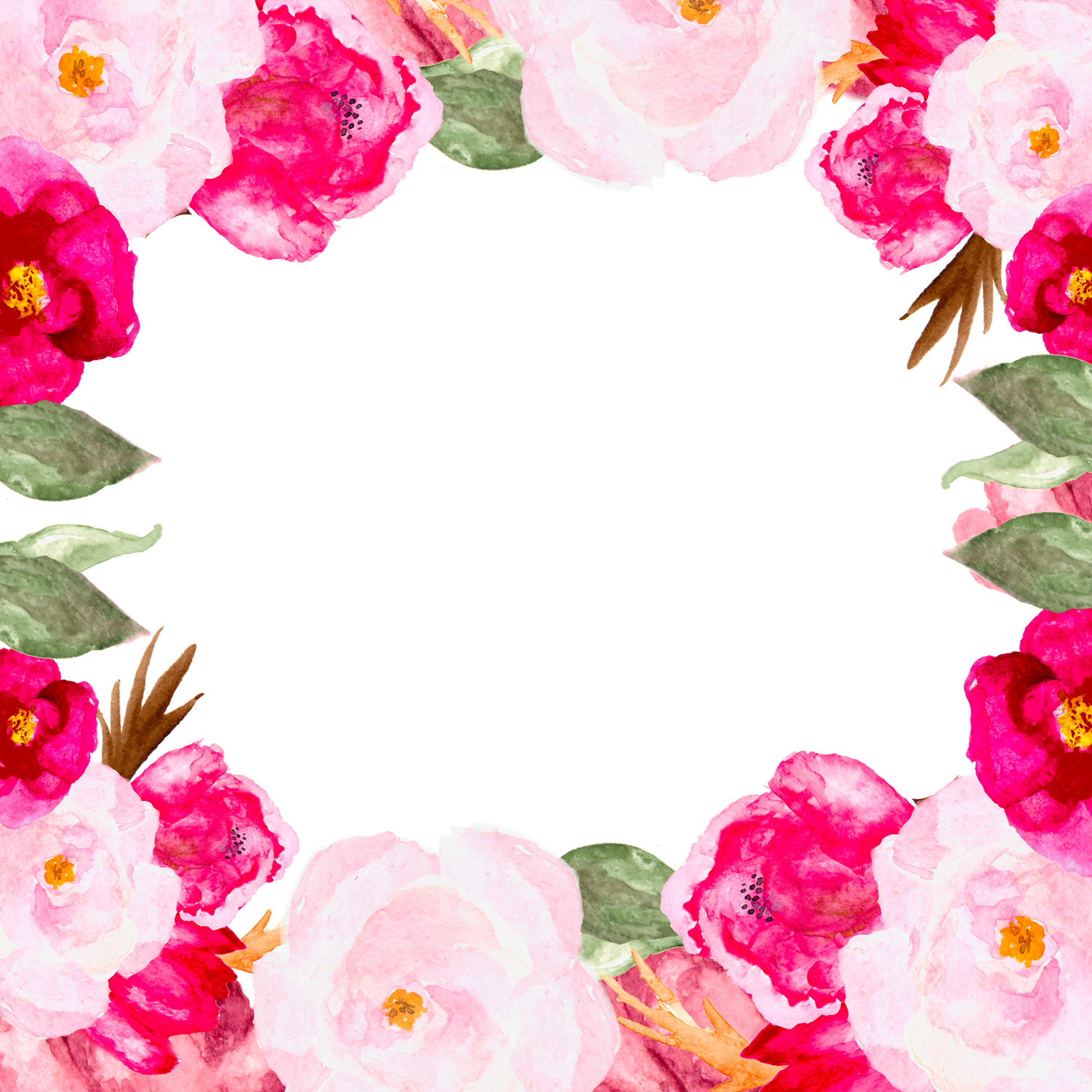 Watecolor Roses example image 1