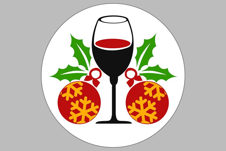Crhistmas Wine Party Bundle example image 11