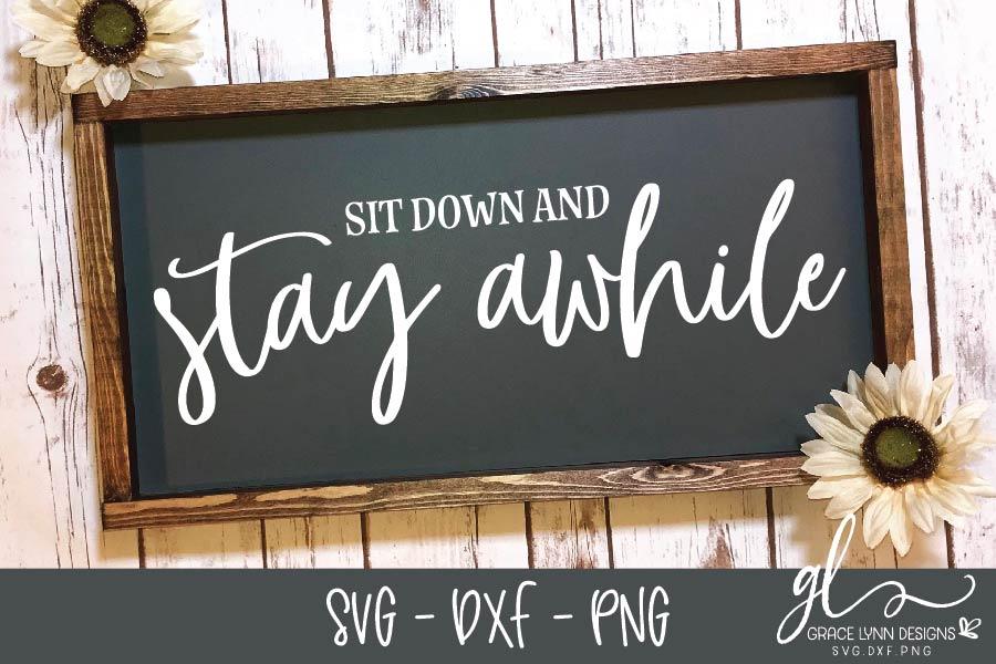 Farmhouse Sign SVG Bundle - SVG, DXF & PNG - 8 Designs example image 6