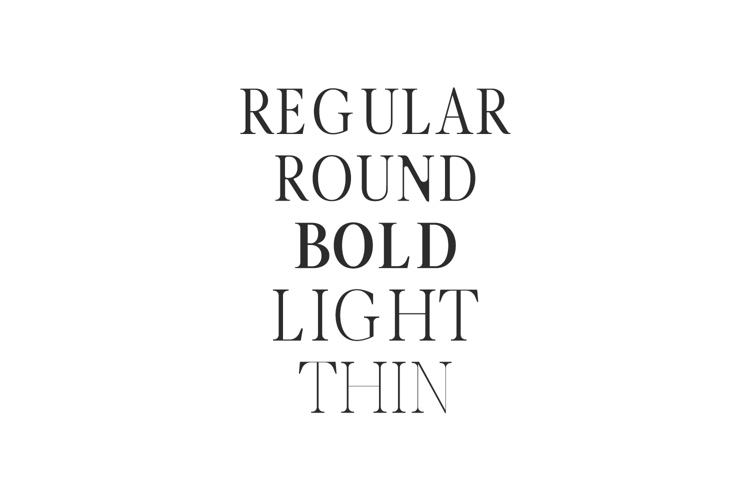 Glamour Luxury Serif Font Family example image 6