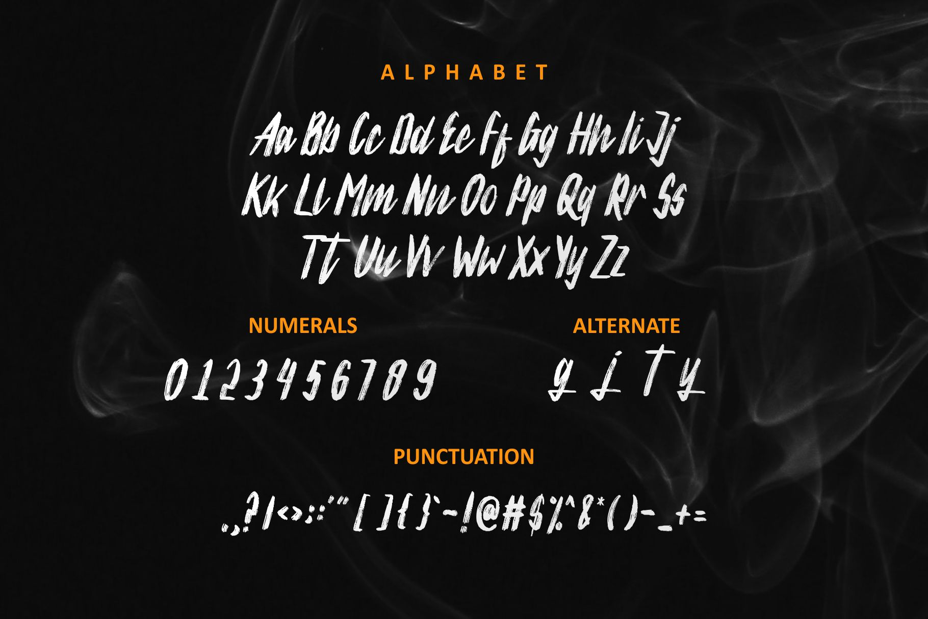 Silver Rayleigh - HandBrush Typeface example image 2