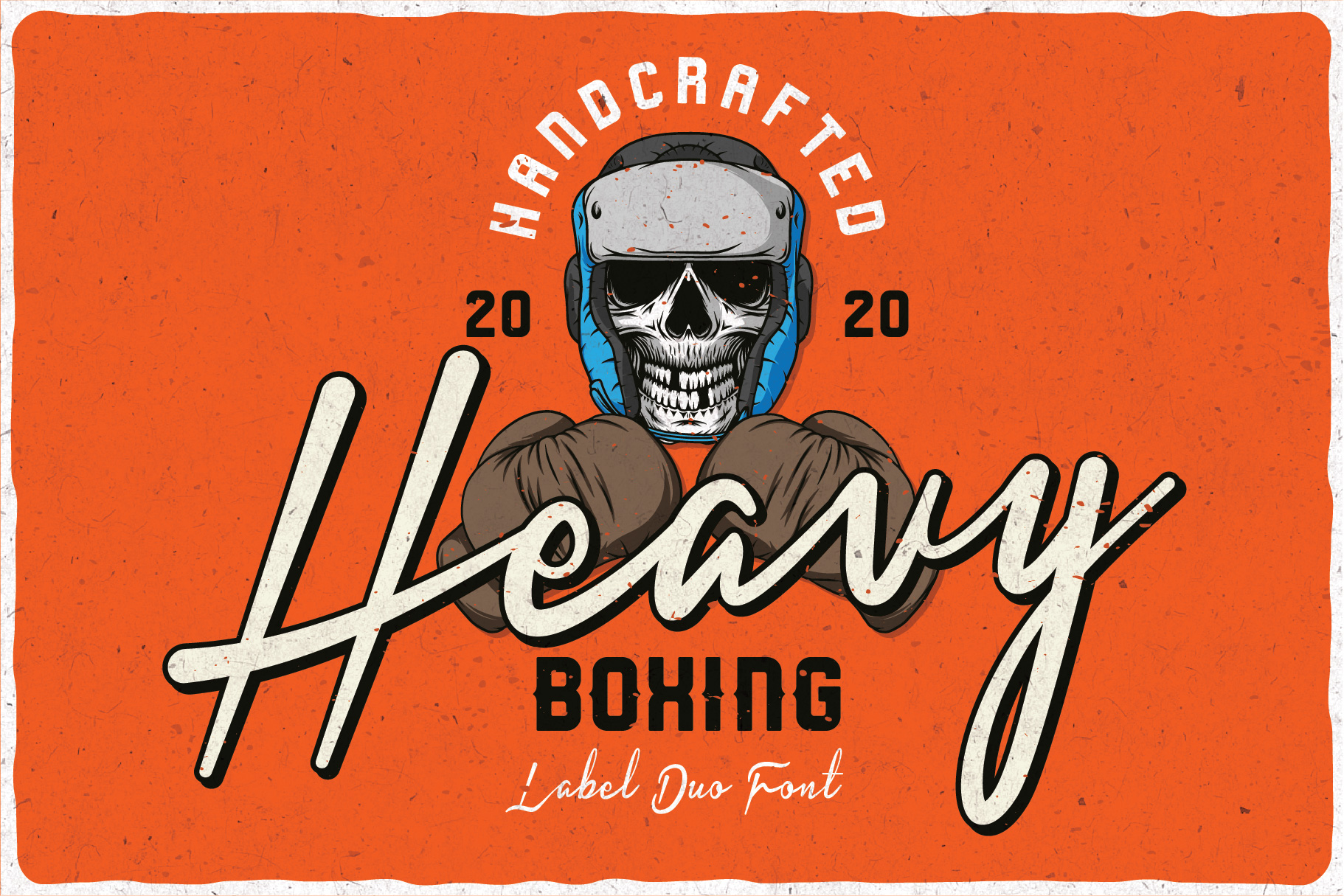 Heavy Boxing. Font Duo example image 5