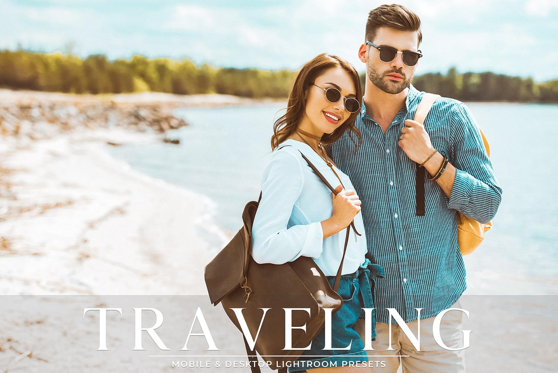 Traveling Mobile & Desktop Lightroom Presets Pack example image 1