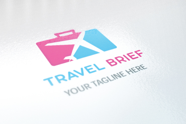 Airplane Travel Logo example image 3