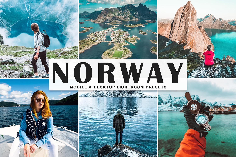 Norway Mobile & Desktop Lightroom Presets example image 1