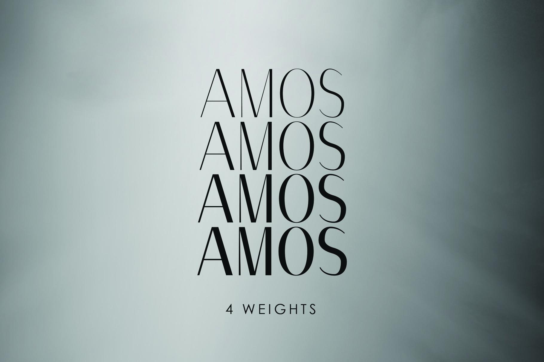 AMOS, A Modern Sans Serif example image 4