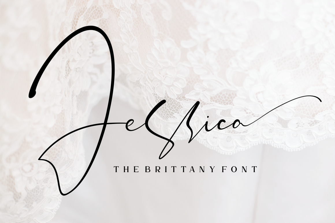 The Brittany // Font Trio example image 4