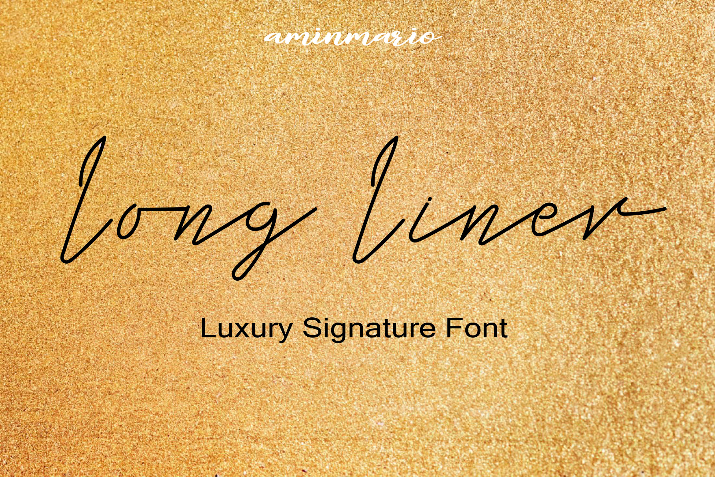 Long Liner | Luxury Signature example image 1