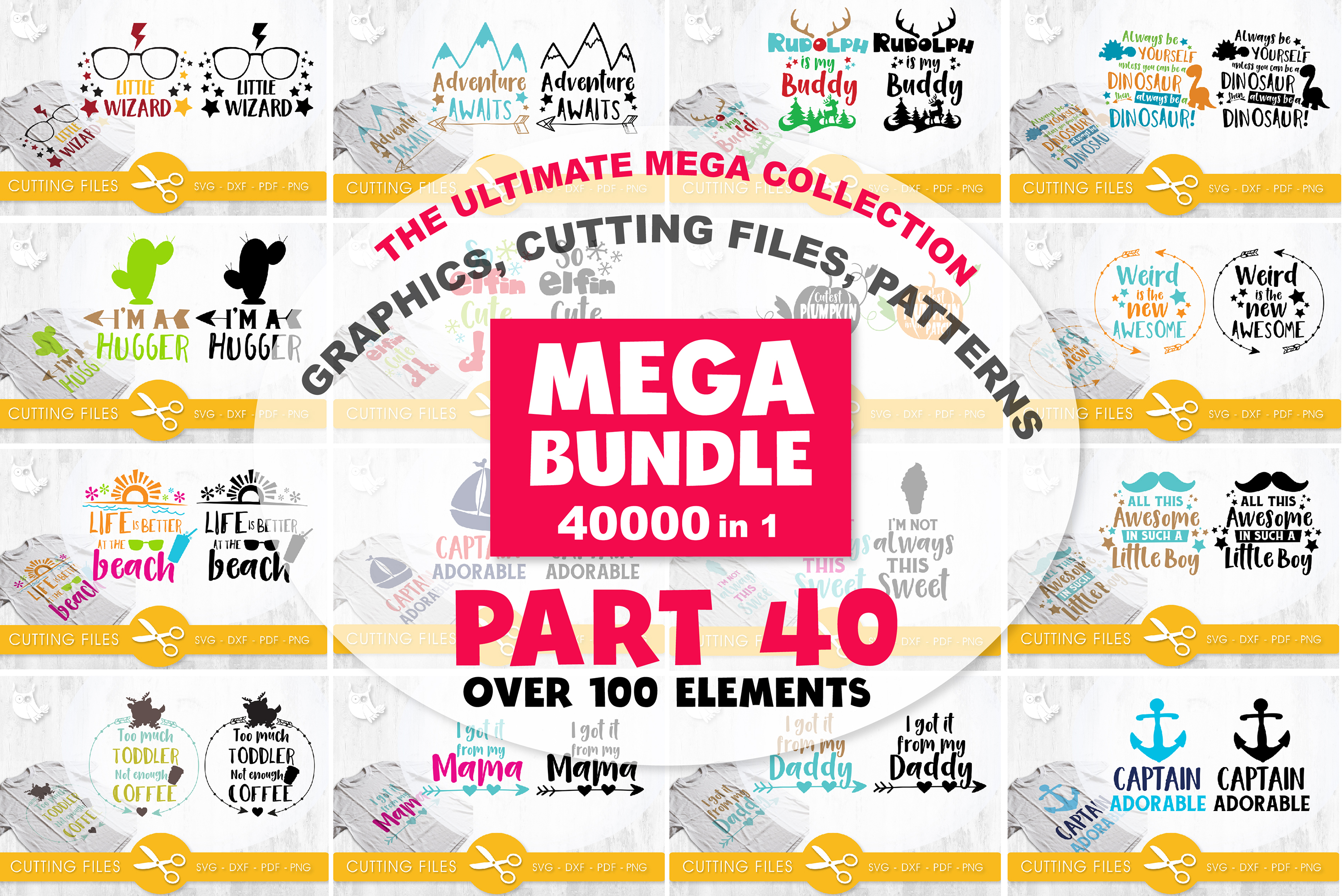 MEGA BUNDLE PART40 - 40000 in 1 Full Collection example image 1