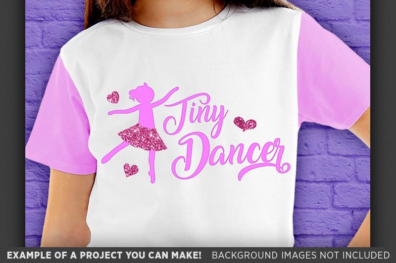 Tiny Dancer Shirt Svg File - Dance Svg - Dance Mom - 1055 example image 3
