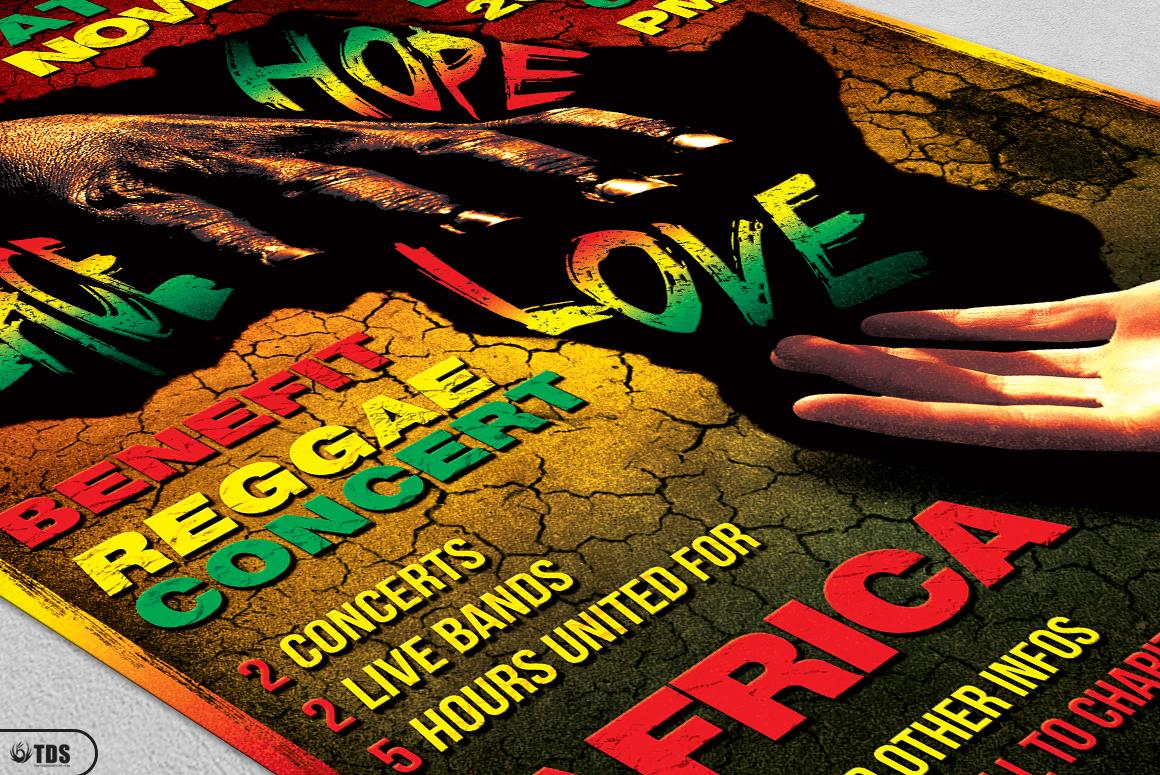 Reggae Flyer Bundle example image 11