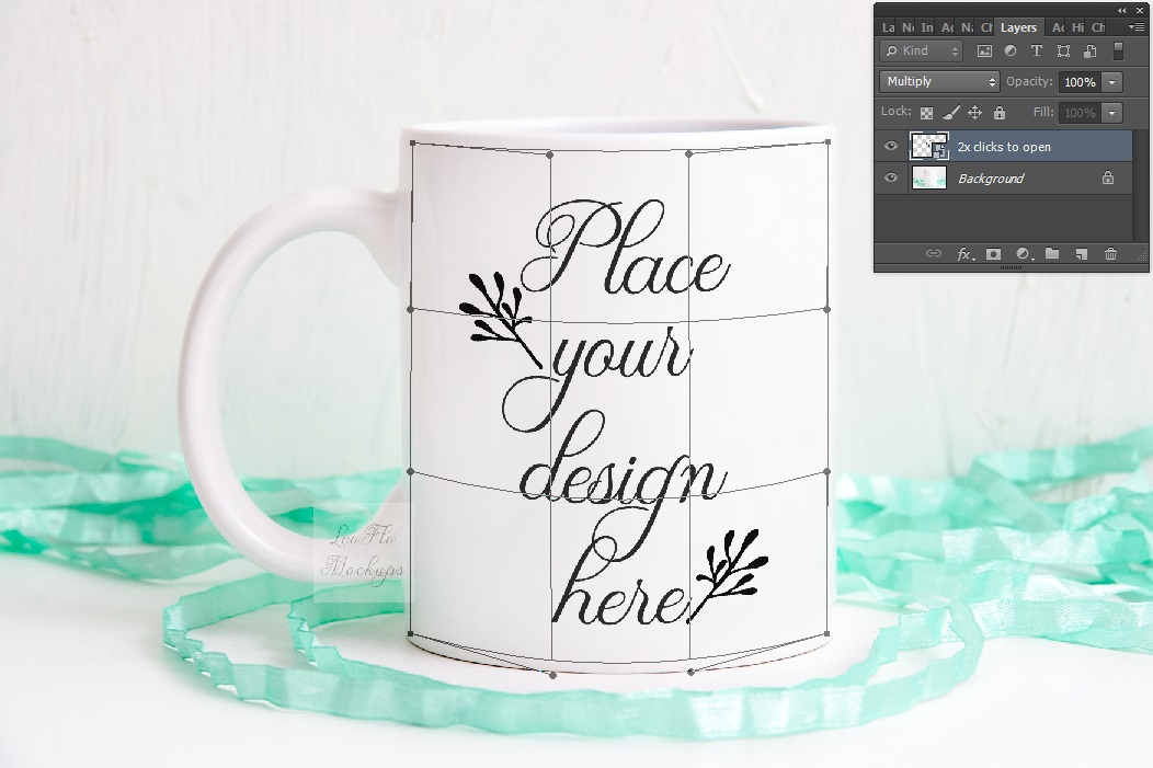Coffee mug mockup spring white cup psd mock up example image 2