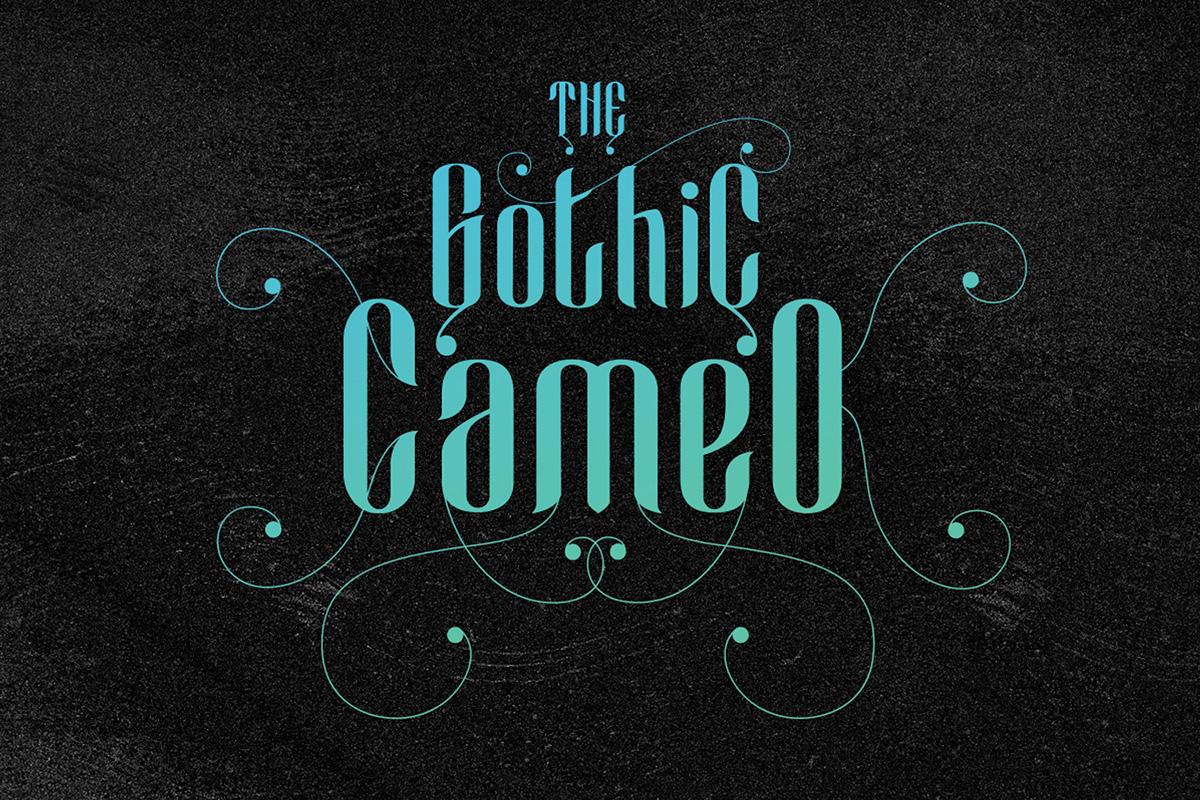 Cameo Sweet Gothic example image 8
