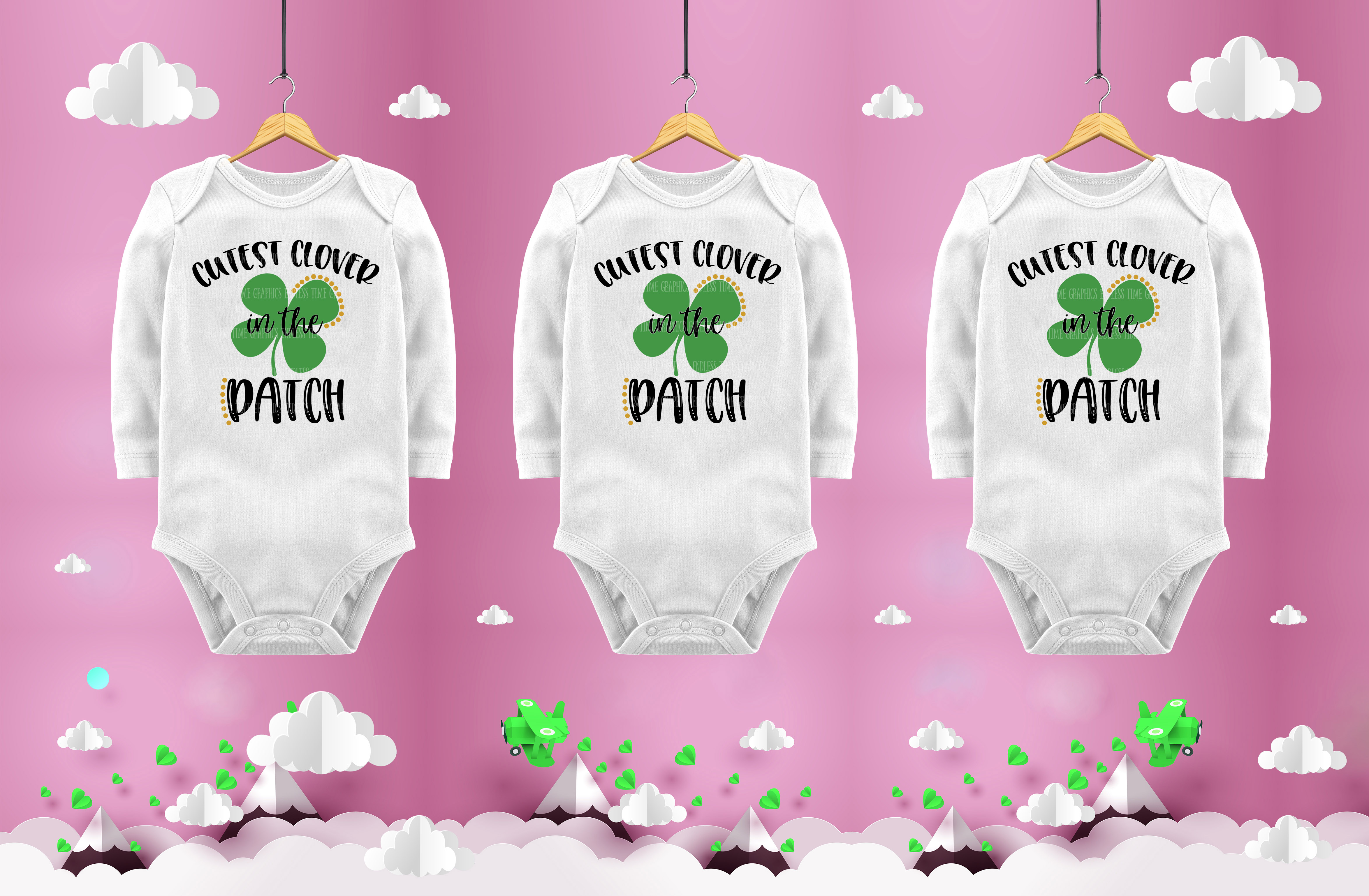 St Patrick's Day SVG Cut File example image 2