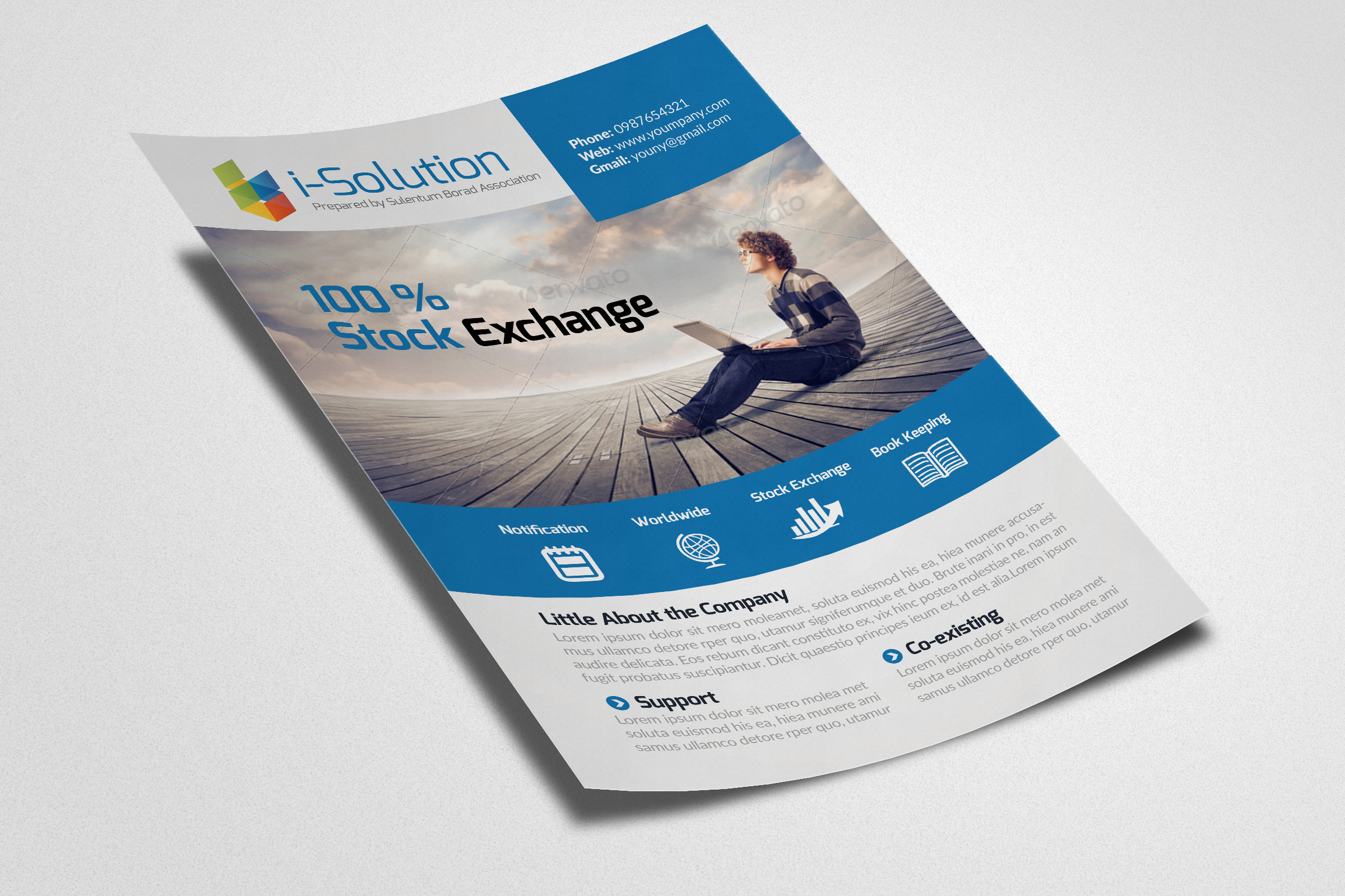 Business Marketing Agency Flyers example image 2