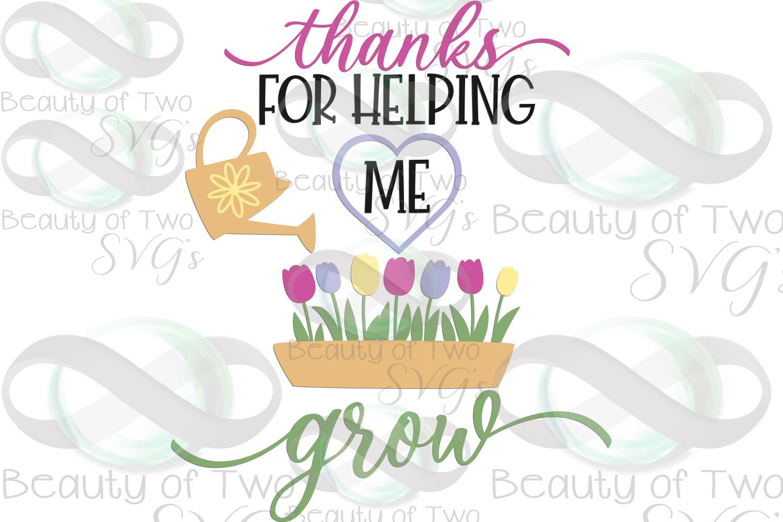 Teacher gift svg & png, teacher appreciation svg, grow svg example image 3