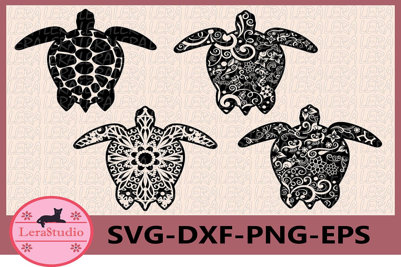 Turtle svg, Zentangle Turtle svg, Turtle Pattern svg example image 1