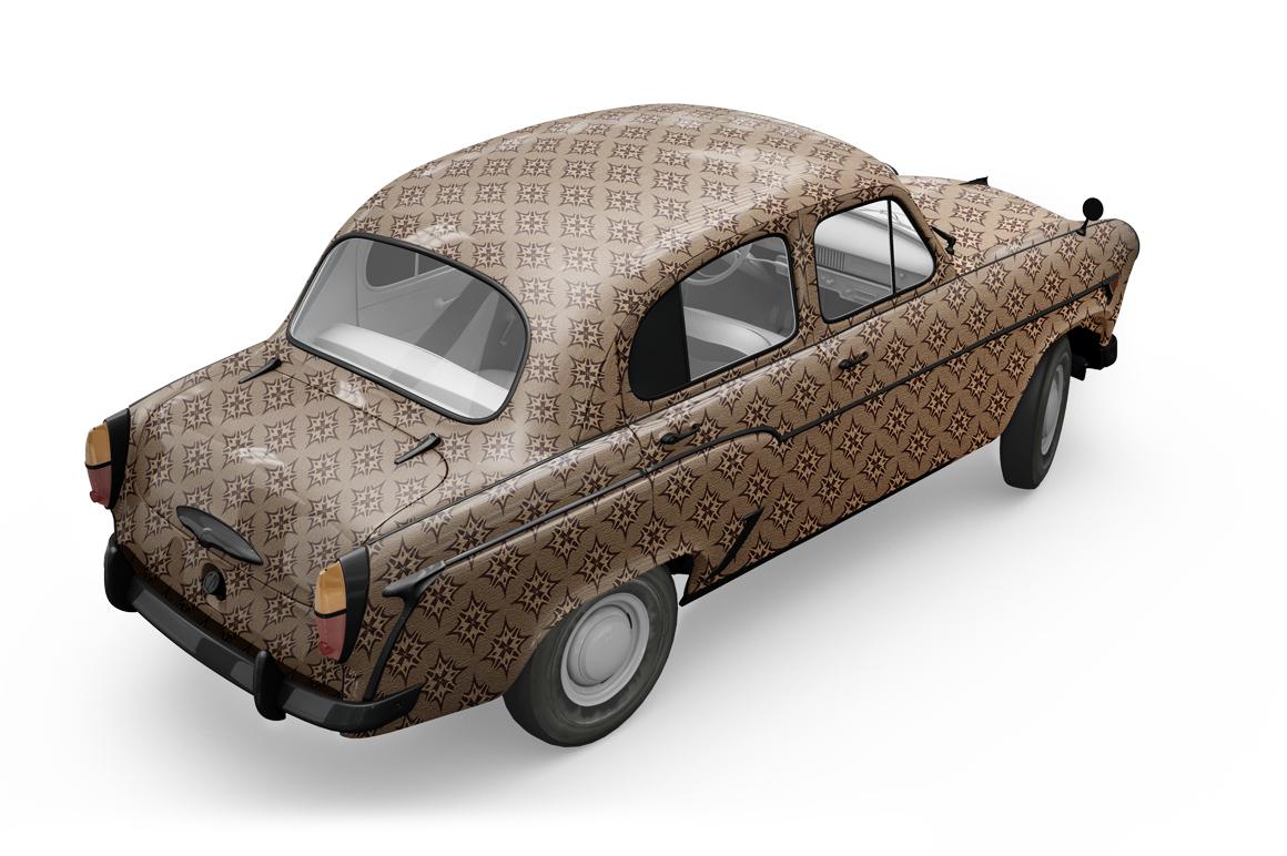 Vintage Car Mockup example image 16