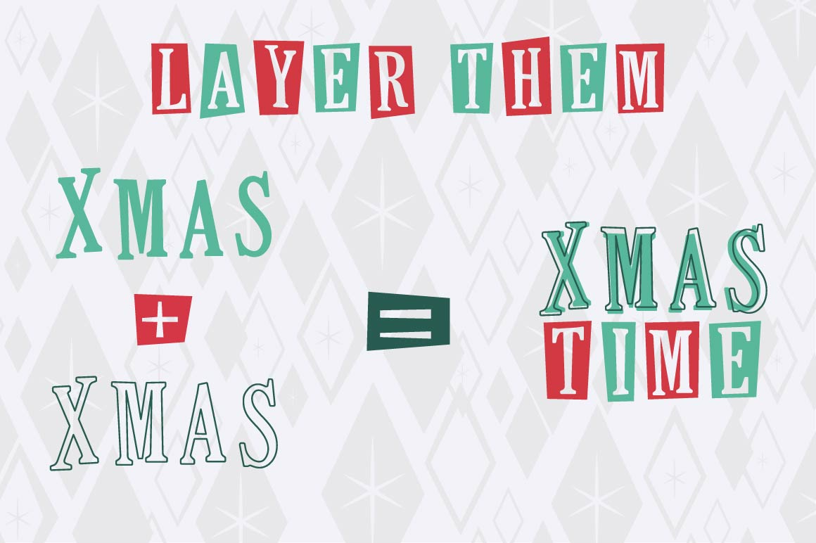 This Holiday Season - Christmas font and Extras example image 7