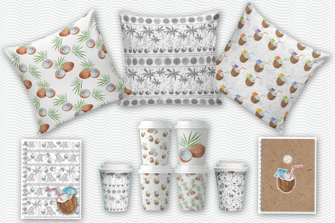 Coconut set example image 7