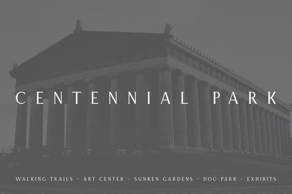 Nashville | Elegant Serif Typeface example image 3