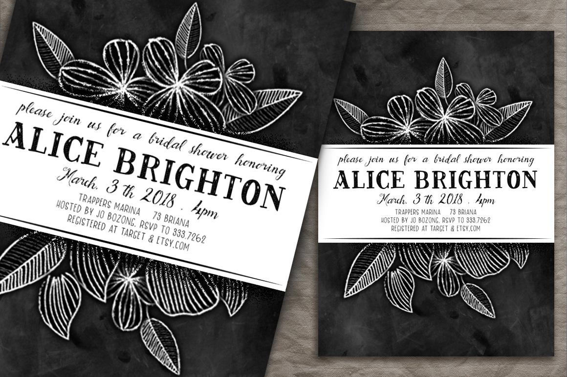 BrideChalk Typeface example image 2