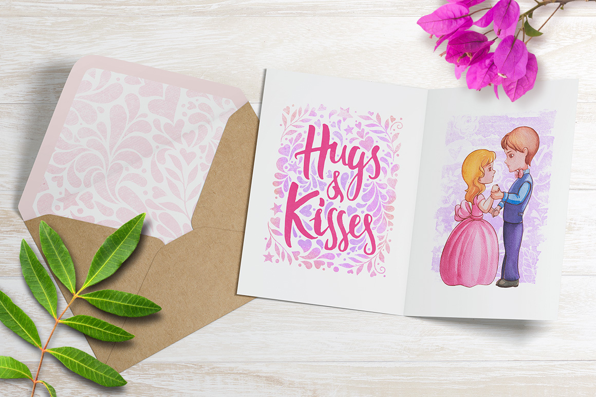 Hugs & Kisses in the Valentines day! example image 3
