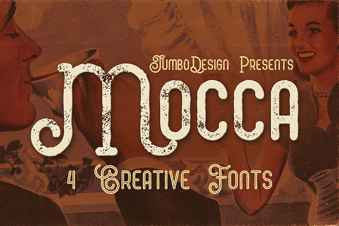 Mocca - Vintage Style Font example image 1