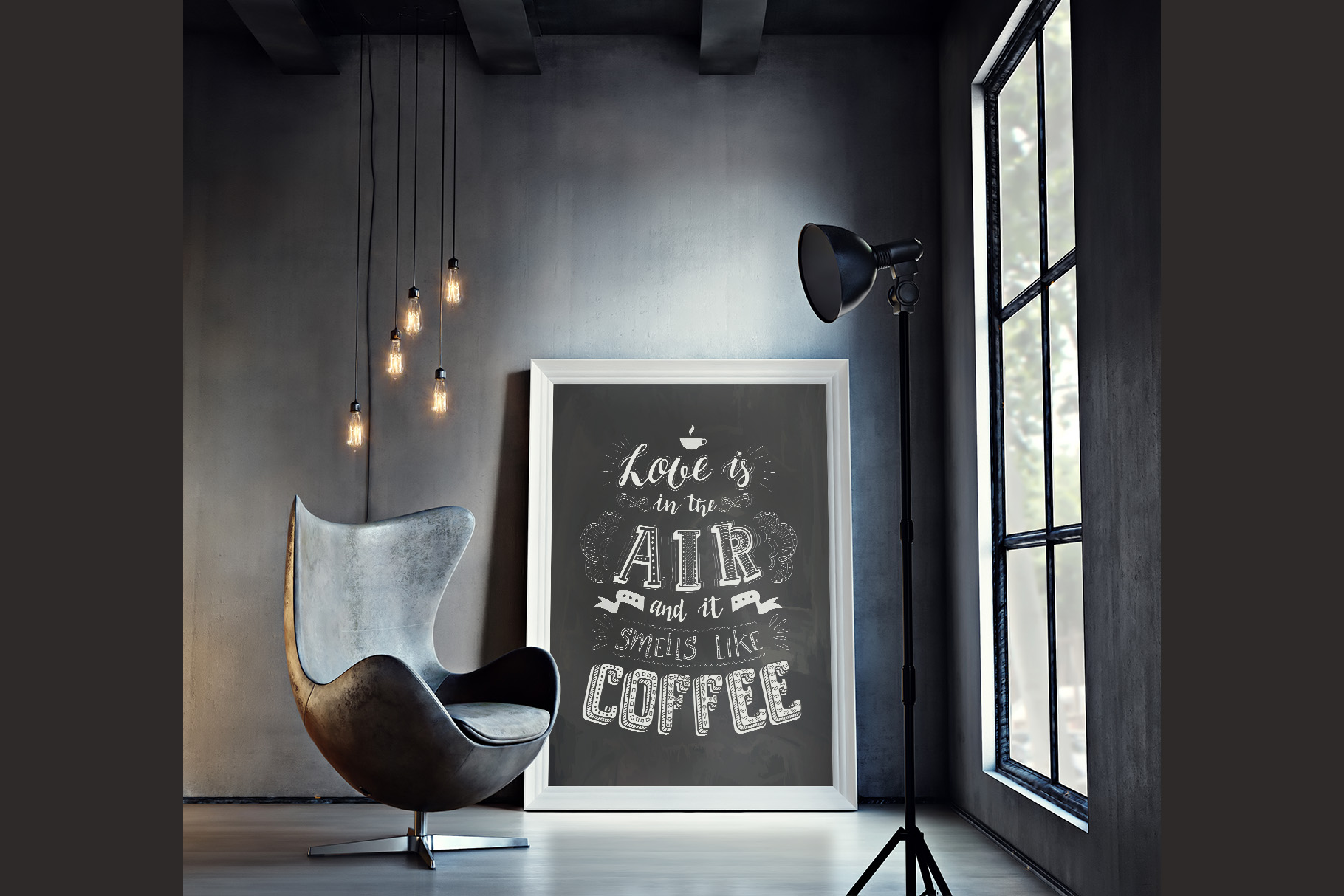 Coffee. Handlettering Quotes. example image 7