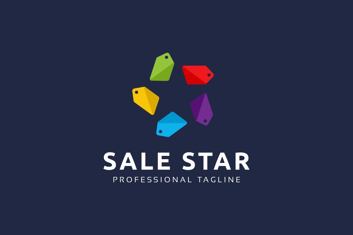 Sale Star Logo example image 2