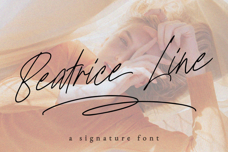 Beatriceline Monoline example image 1