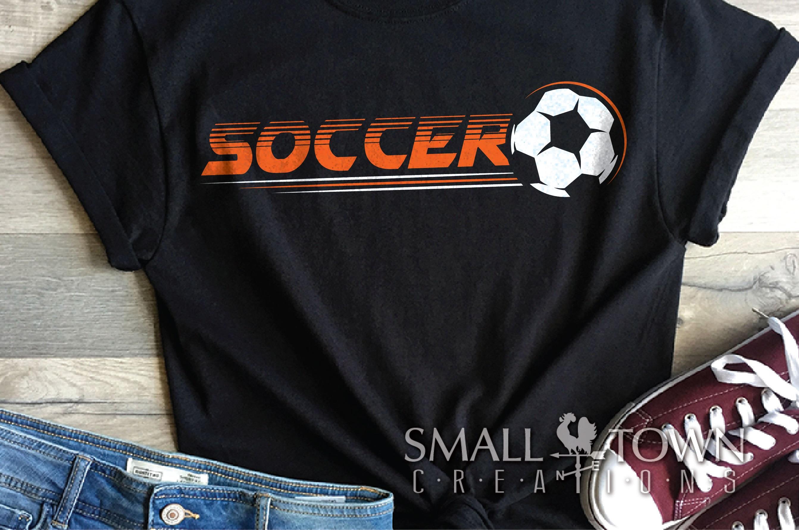 Soccer bundle, Soccer ball, team logo, PRINT, CUT & DESIGN example image 3
