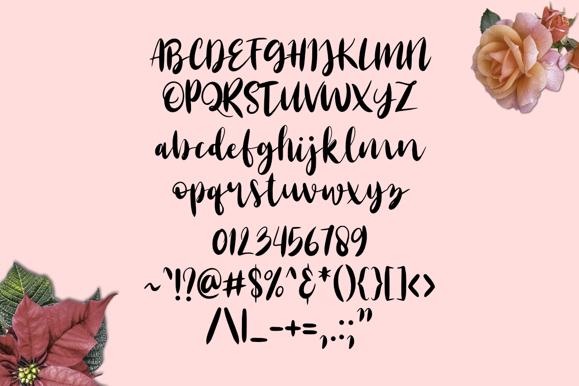 Last Rose Font example image 4