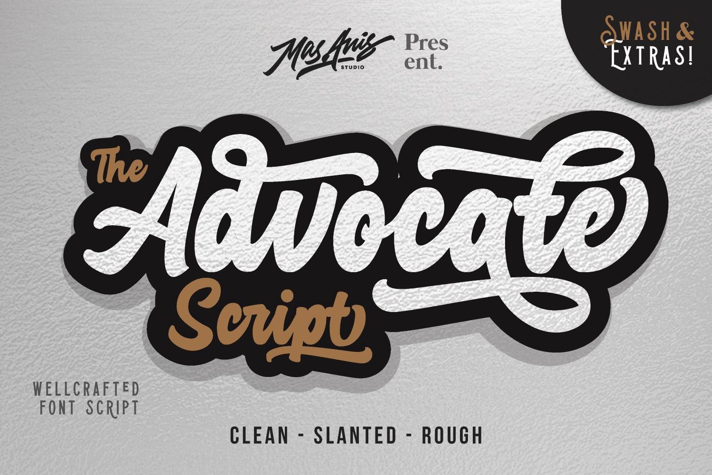 Advocate Script & Extras example image 1
