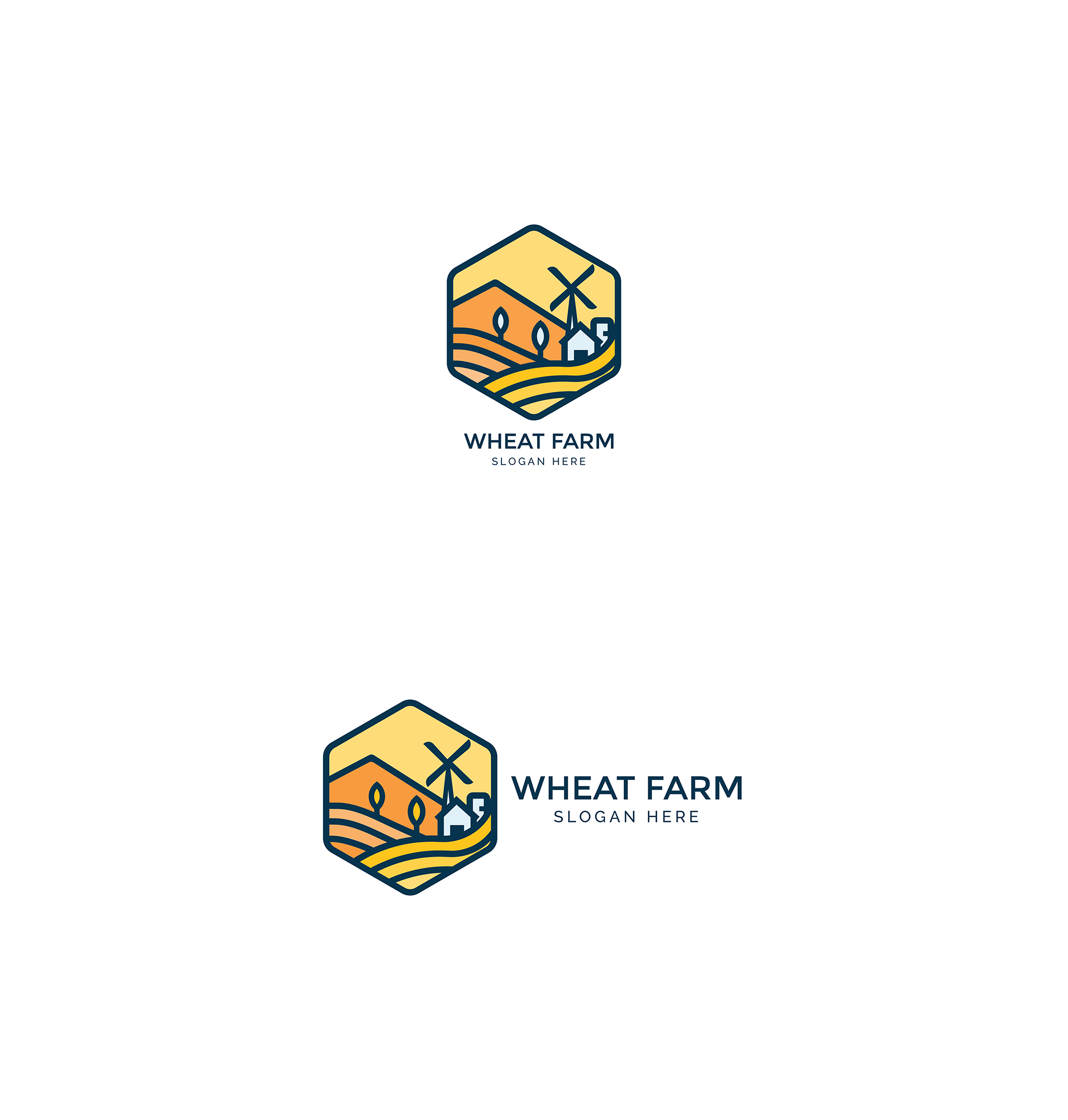Agriculture - Wheat Farm Logo example image 5