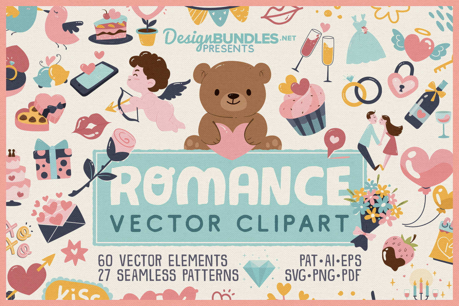 Romance Vector Clipart example image 1
