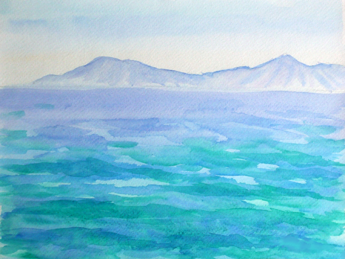 Watercolor Seascapes example image 3