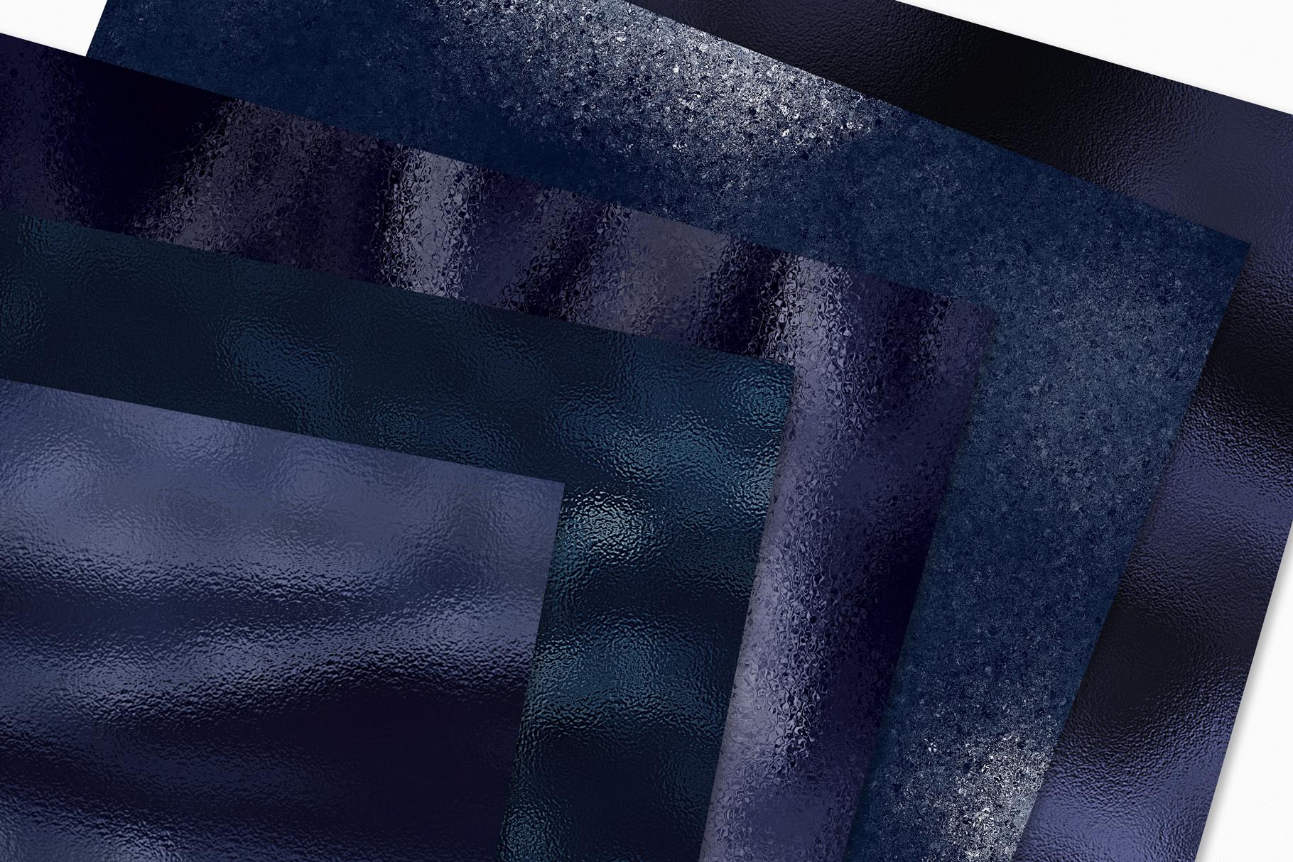 Dark Metallic Textures - 15 Foil & Glitter Digital Papers example image 2