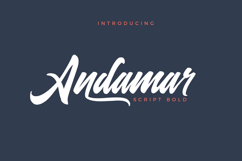 Andamar Script example image 1
