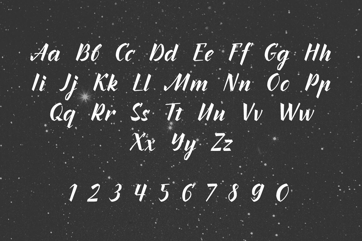Inters—handwritten font example image 2