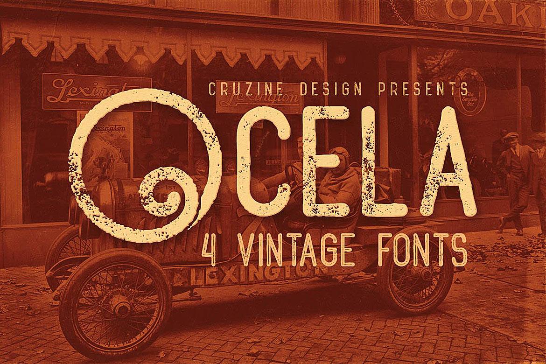Ocela Typeface example image 1